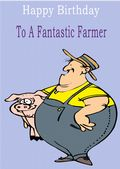 Farmer - Greeting Card